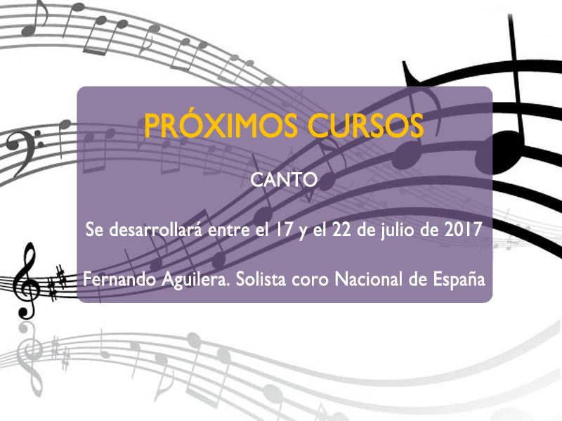 Curso de Verano de Canto en Torremusicalia