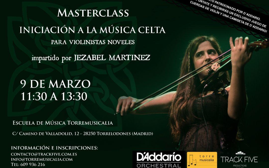 Masterclass. Iniciación a la Música Celta